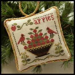 The Sampler Tree Ornament Series - SWEET APPLES