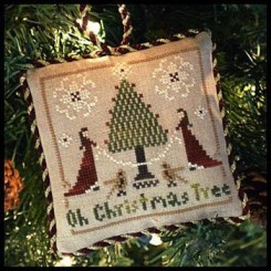 The Sampler Tree Ornament Series - OH CHRISTMAS TREE