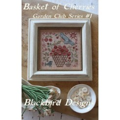 Garden Club Series 1: BASKET OF CHERRIES