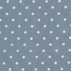 Zweigart Belfast Petit Point blau, weiß gepunktet, Zuschnitte