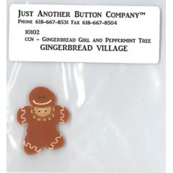 JABC - Gingerbread Village, Gingerbread Girl and Peppermint Tree