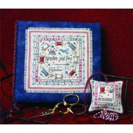 NEEDLES & PINS - A Stitchers Needlebook & Fob Set