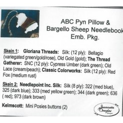 ABC PYN PILLOW & BARGELLO SHEEP NEEDLEKEEP - Materialpaket