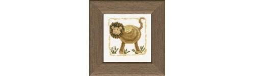 Elefanten, Löwen, Tiger, Bären